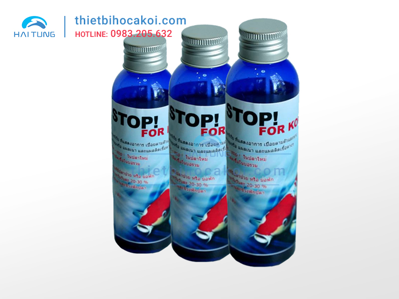 Thuốc chữa nhiễm khuẩn cho cá Koi Aqua Bacstop CZ17