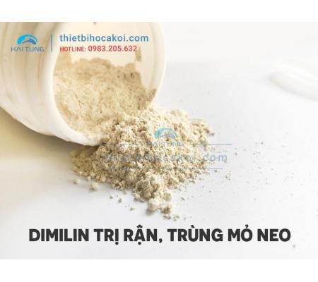 Thuốc Dimili trị rận, trùng mỏ neo 1 gram